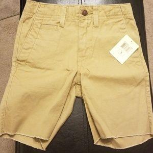 Lucky Brand Boy khaki Shorts Size 5 NWT